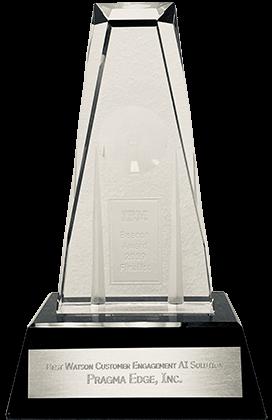Pragma Edge, IBM, Pragmaedge, Beacon Award,
